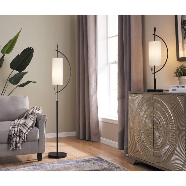 Renessa Black One-Light Floor Lamp, image 3