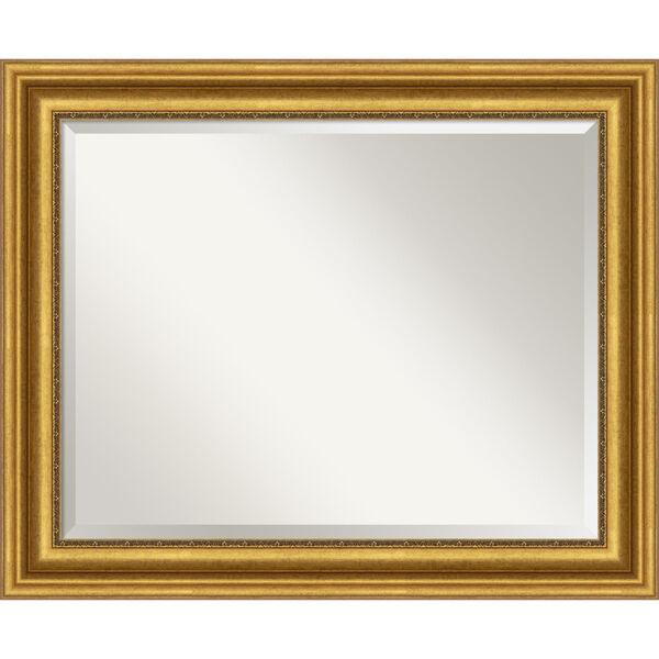 Parlor Gold 34W X 28H-Inch Bathroom Vanity Wall Mirror, image 1