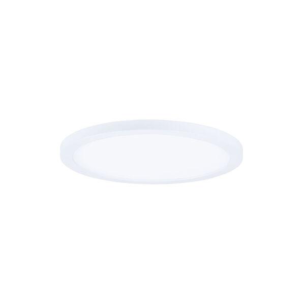 Wafer White 7-Inch 3000K Led One-Light Flush Mount, image 1