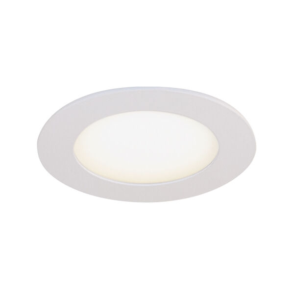 STAK Matte White 5-Inch Integrated LED Recessed Fixture, Pack of 4, image 3