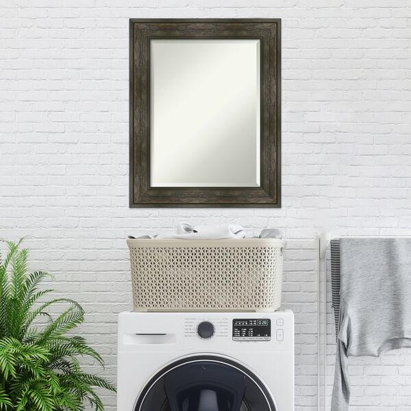 Rail Brown 24W X 30H-Inch Bathroom Vanity Wall Mirror, image 3