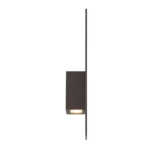 Icon Bronze Three-Inch Two-Light LED Outdoor Wall Sconce, image 3