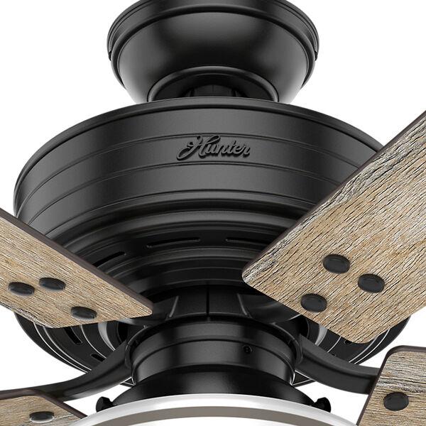 Cedar Key Matte Black 44-Inch One-Light LED Adjustable Ceiling Fan, image 5