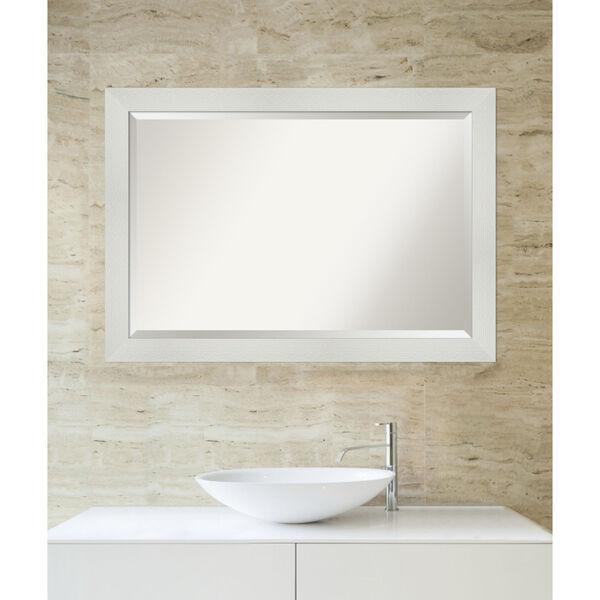 Mosaic White 40W X 28H-Inch Bathroom Vanity Wall Mirror, image 5