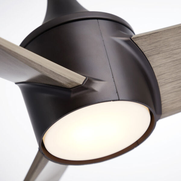 Riptide Oil Rubbed Bronze 52-Inch LED Indoor Outdoor Ceiling Fan, image 5