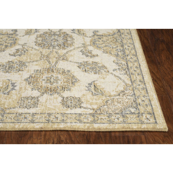 Ria Sofia Ivory Sand Rectangular: 3 Ft. 3 In. x 5 Ft. 3 In. Area Rug, image 2