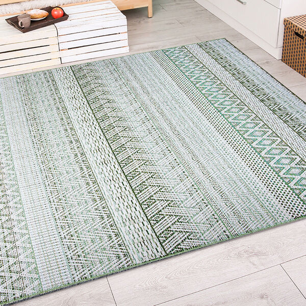 Cape Gables Palm Rectangular: 3 Ft. 11 In. x 5 Ft. 6 In. Indoor/Outdoor Rug, image 6