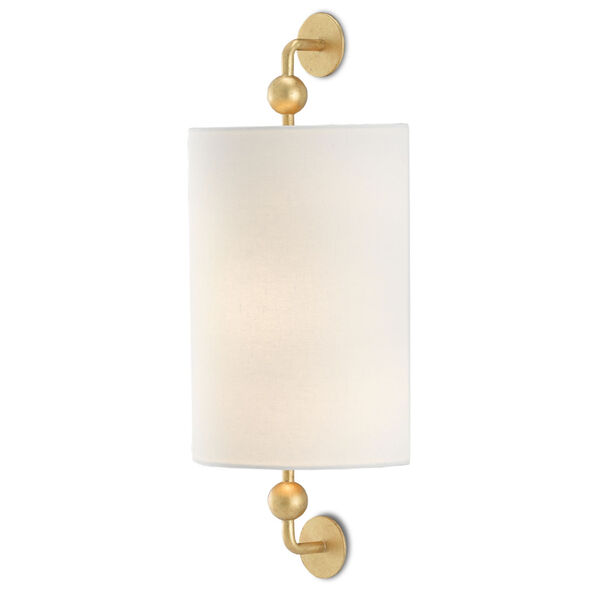 Tavey Contemporary Gold One-Light Wall Sconce, image 1