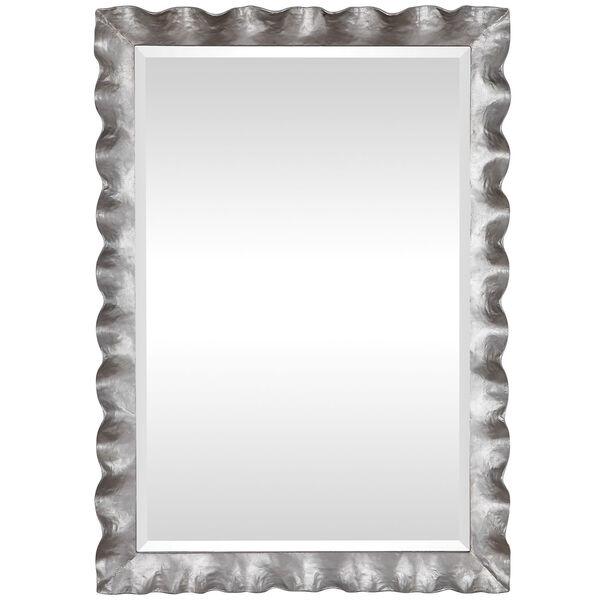 Haya Silver Leaf Vanity Mirror, image 2