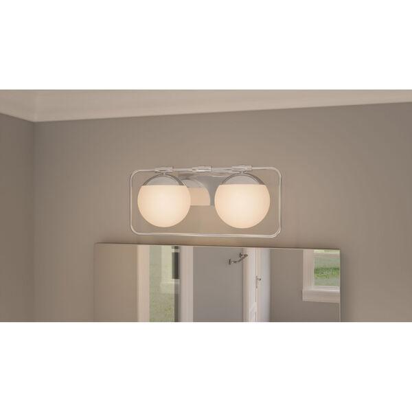 Padgett Polished Chrome Two-Light Bath Vanity, image 2
