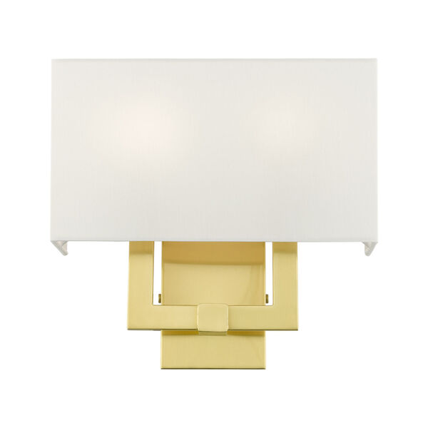 Meridian Satin Brass Two-Light ADA Wall Sconce, image 4