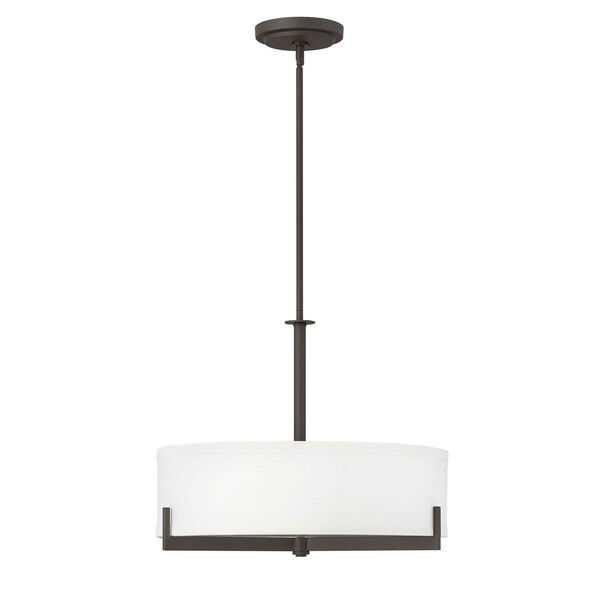 Hayes Oil Rubbed Bronze Three-Light Chandelier, image 1