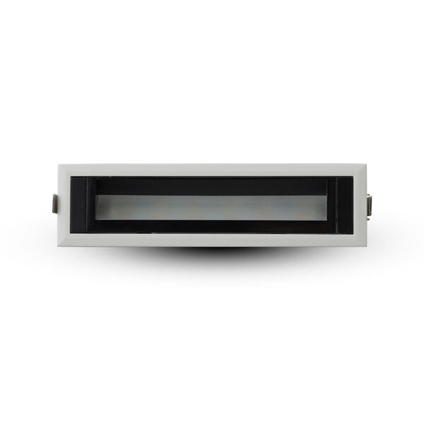 Slice White Seven-Inch LED Recessed Wall Washer, image 3