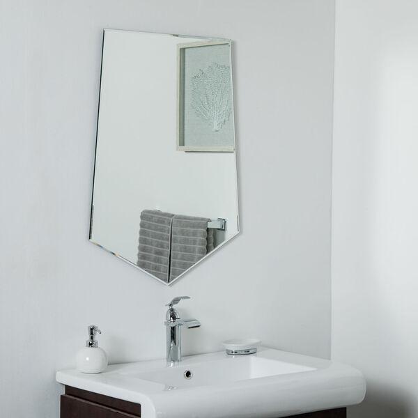 Decor Wonderland Frameless Beveled Edge Bathroom Mirror Ssm9014 Bellacor