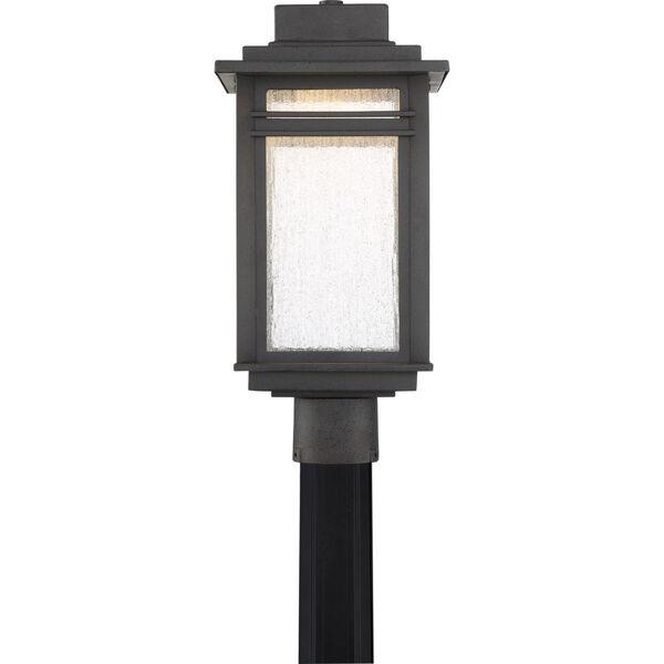 Beacon Stone Black LED Outdoor Post, image 3