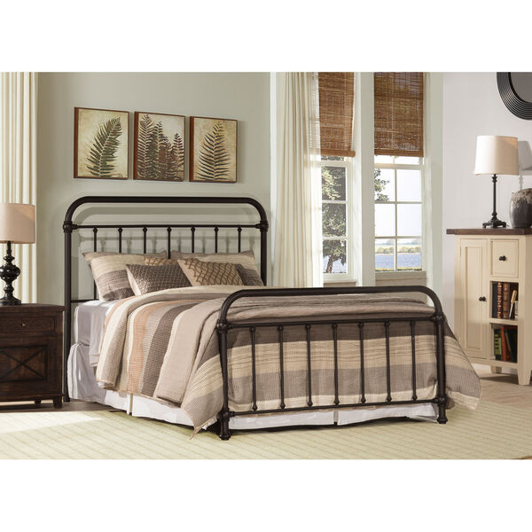 Kirkland Full Bed Set - Dark Brown, image 1