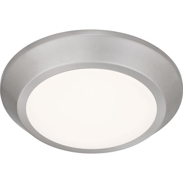 Verge Brushed Nickel LED Flush Mount, image 4