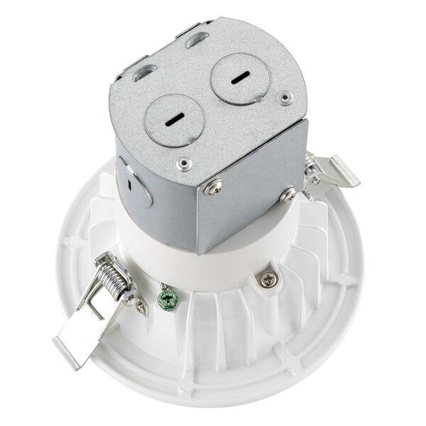 White Four-Inch 2700K LED Recessed Light, image 2