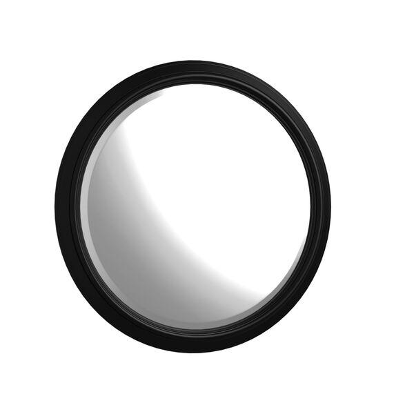 Lawrence Anabel Dark Cherry Round Mirror, image 1