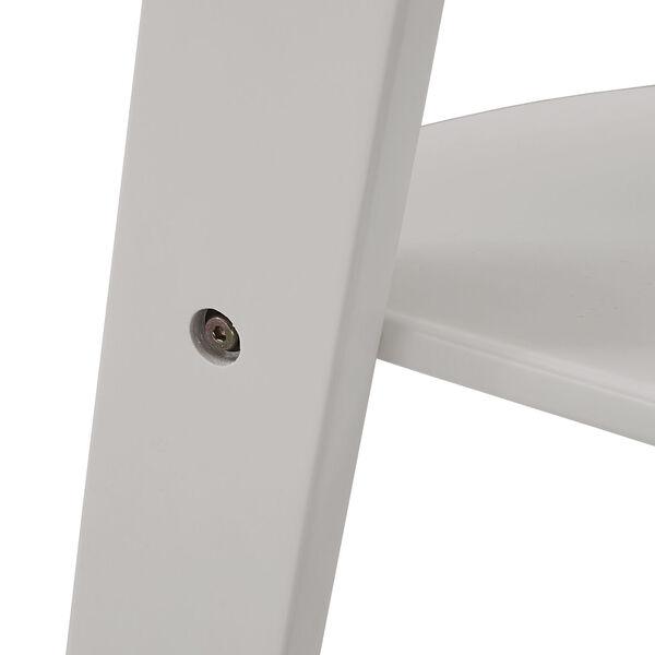 Roark White Corner Ladder Bookcase, image 5