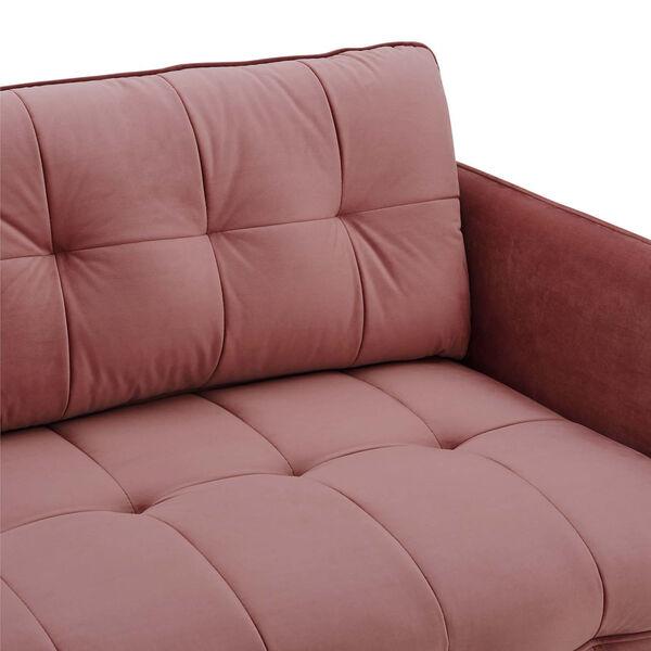 Whittier Dusty Rose Tufted Performance Velvet Sofa, image 6
