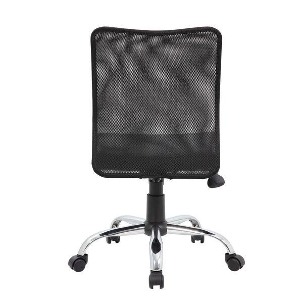 Boss 27-Inch Black Budget Mesh Task Chair, image 2