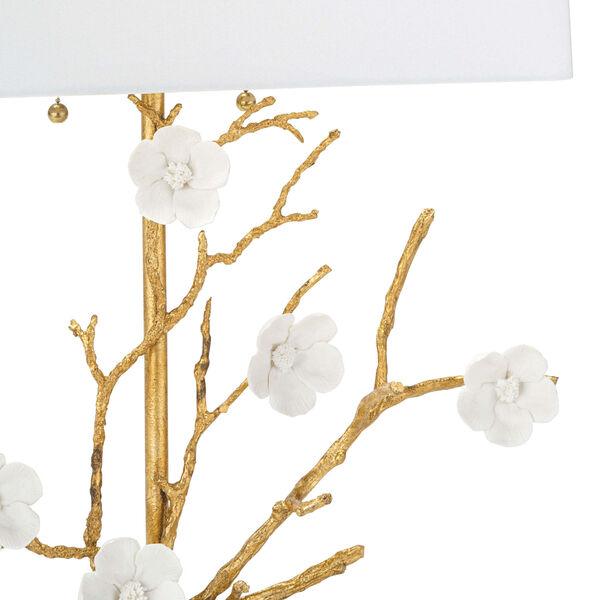 Cherise Gold Two-Light Horizontal Table Lamp, image 4
