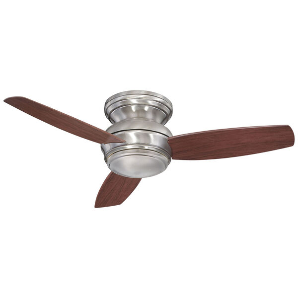 Traditional Concept Pewter 44-Inch Outdoor LED Ceiling Fan, image 1