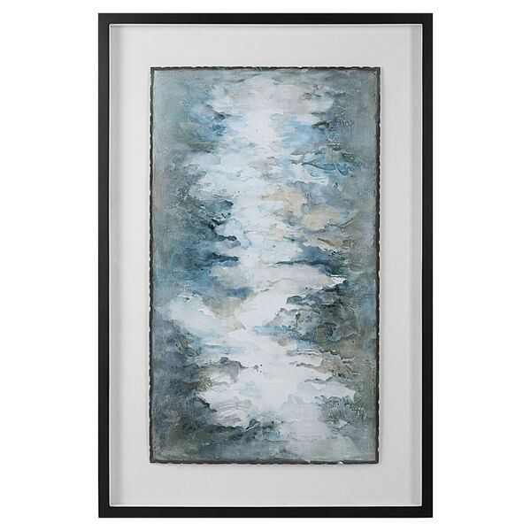Lakeside Grande Multicolor Framed Abstract Print, image 1