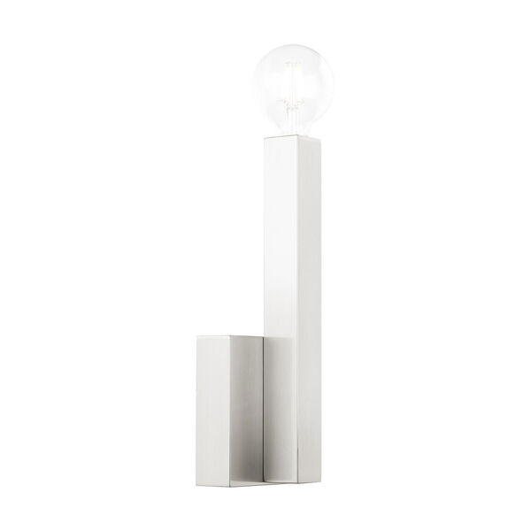 Solna Brushed Nickel One-Light  Wall Sconce, image 3