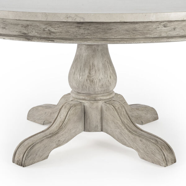 Masterpiece Danielle Gray Coffee Table, image 5