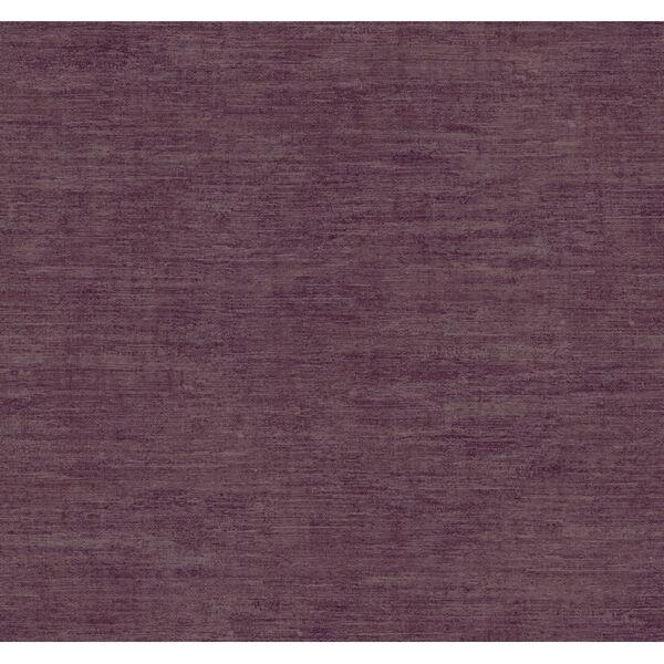 Antonina Vella Elegant Earth Berry Heathered Wool Textures Wallpaper, image 2