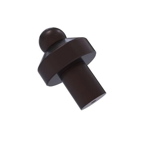 Antique Bronze One-Inch Cabinet Knob, image 1