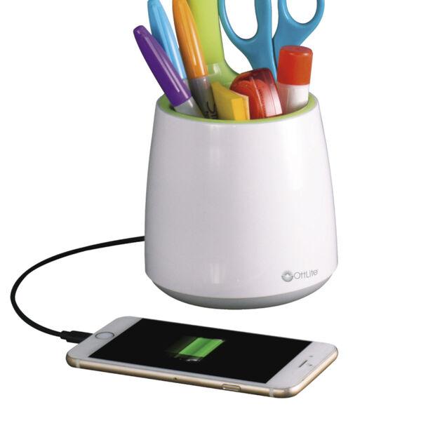 Organize White LED Desk Lamp, image 5