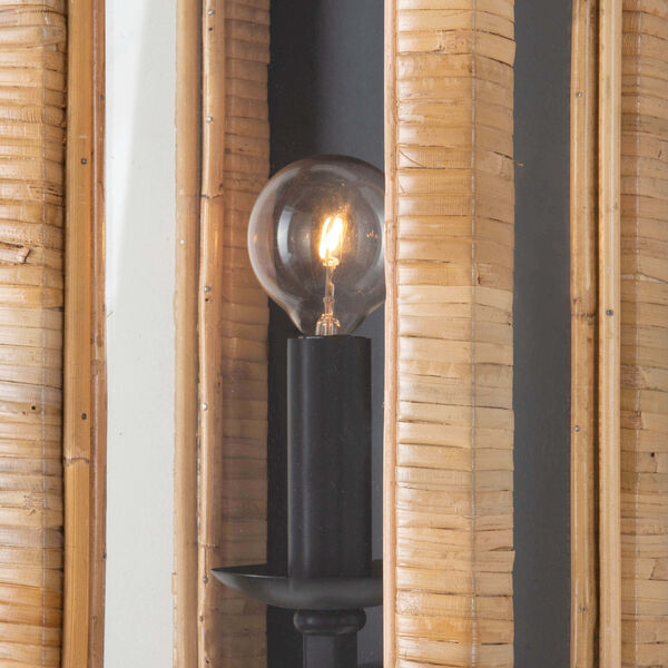 Newport Natural One-Light Wall Sconce, image 2