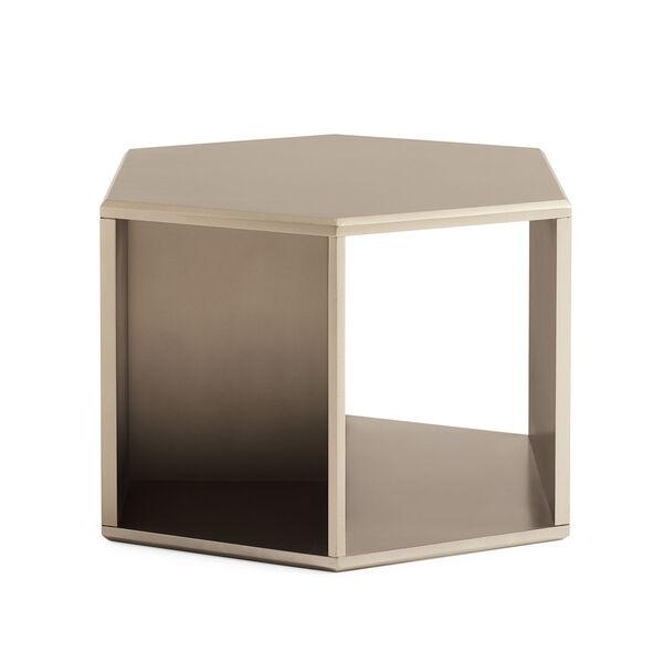 Modern Artisan Remix Tan End Table, image 4