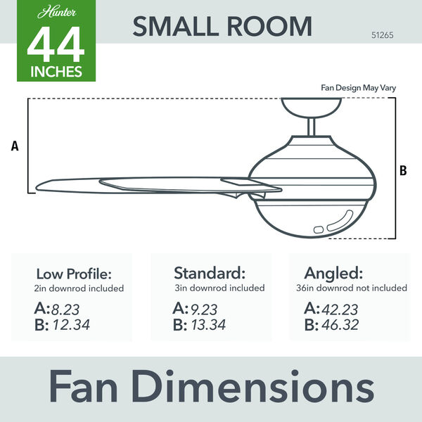 Mesquite 44-Inch LED Ceiling Fan, image 7