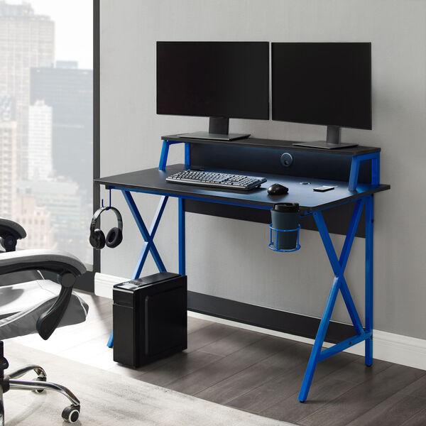 Ian Black Blue Desk, image 3