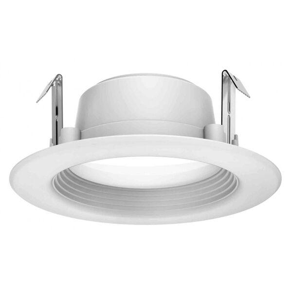 SATCO White LED Dimmable 2700K 8.5Watt 120V Retrofit, image 1