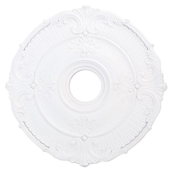 Buckingham White 22-Inch Ceiling Medallion, image 1
