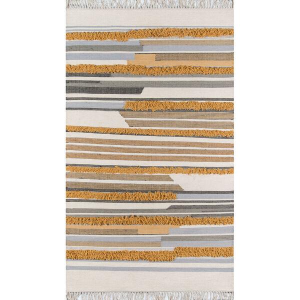 Indio Mustard Rectangular: 3 Ft. x 5 Ft. Rug, image 1