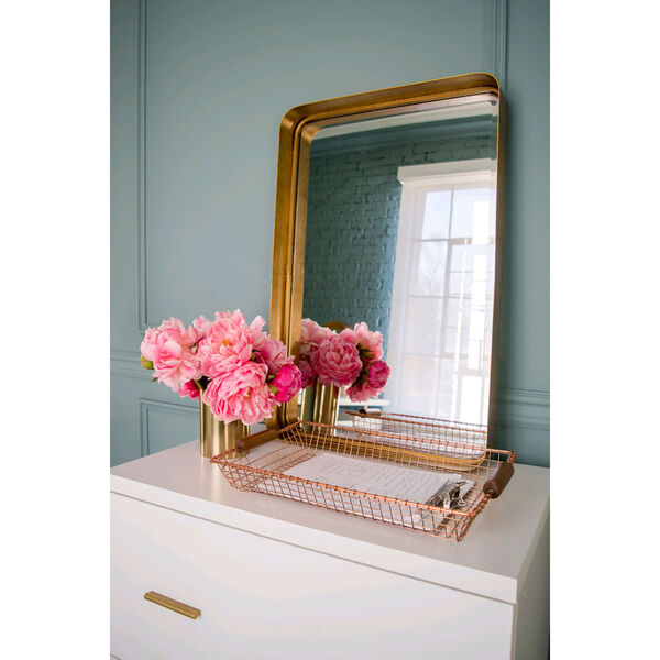 Crofton Antique Gold Mirror, image 3