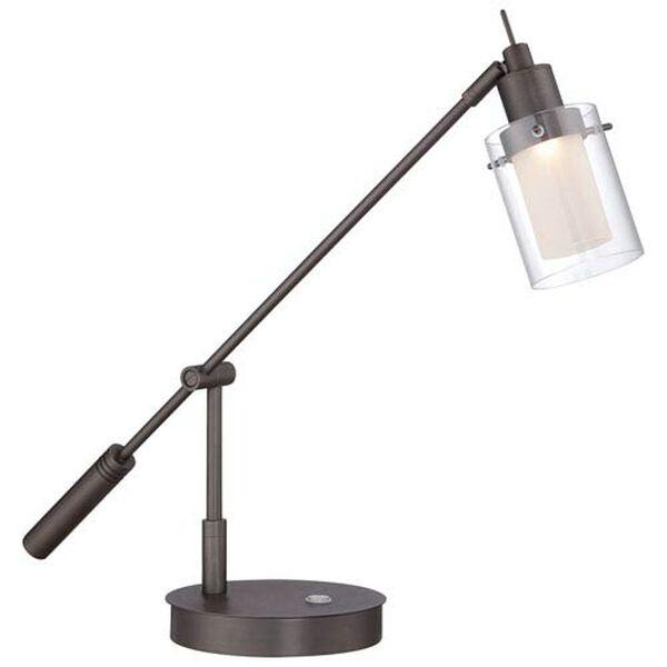 Felix Copper Bronze LED Desk Lamp, image 1