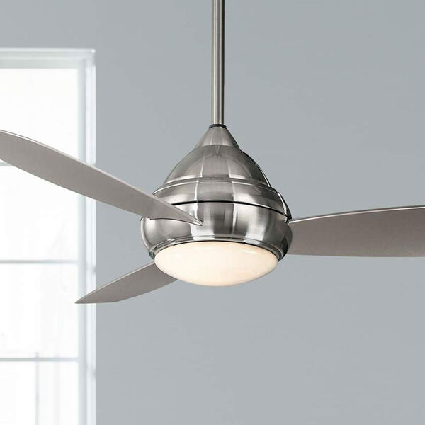 Concept I Brushed Nickel Outdoor LED 52-Inch Ceiling Fan, image 3