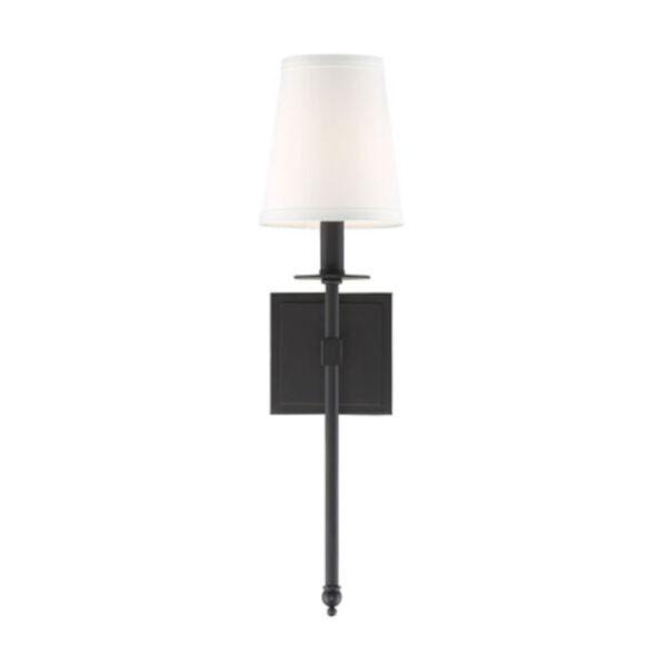 Linden Matte Black 20-Inch One-Light Wall Sconce, image 5