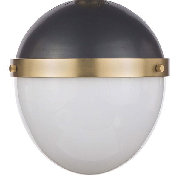 Classics Blackened Brass 10-Inch One-Light Pendant, image 4
