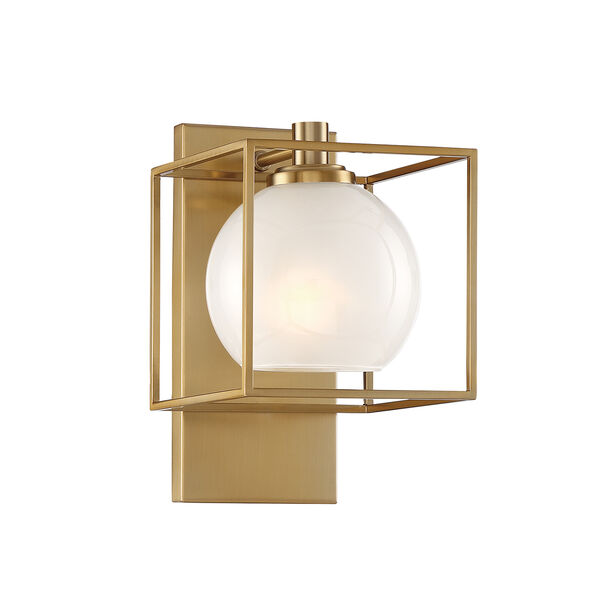 Cowen Brushed Gold One-Light Wall Sconce, image 1