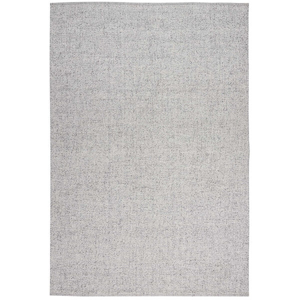 Tobiano Roan Silver Rectangular: 5 Ft. 3 In. x 7 Ft. 5 In. Rug, image 1
