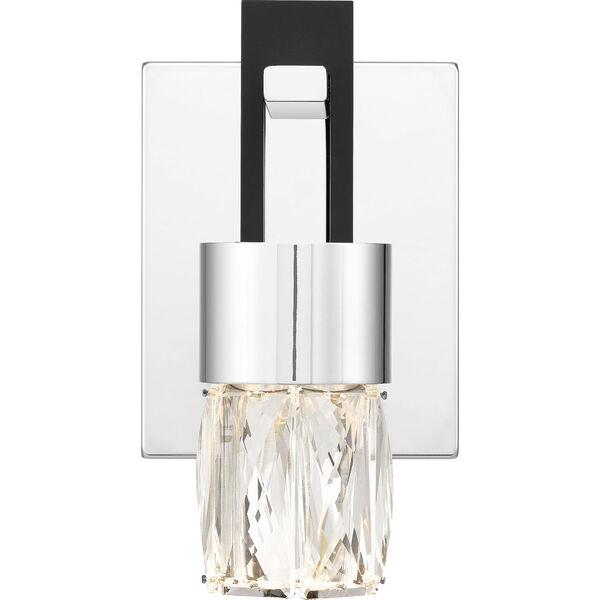 Adena Polished Chrome LED Wall Sconce, image 1