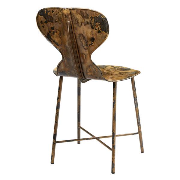 McCallan Acid Washed Metal Chair, image 1